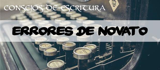 Errores de novato - Consejos de escritura